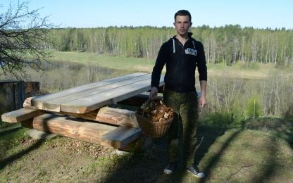"""Сбор грибов в национальном парке """"Угра"""""""