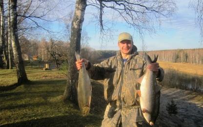 как рыбалка на реке угре