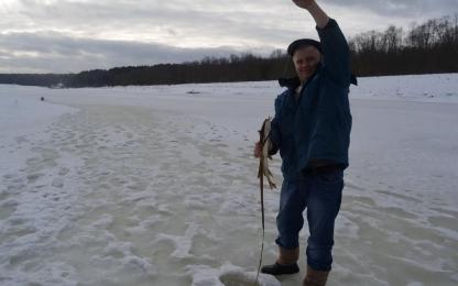 Рыбалка на реке Угра