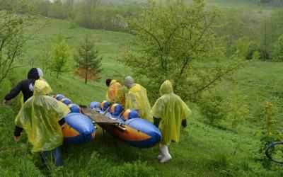Сплавы по реке Угра
