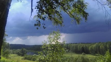Пейзажи Угры